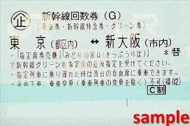 新幹線回数券